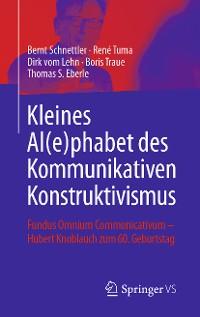 Cover Kleines Al(e)phabet des Kommunikativen Konstruktivismus