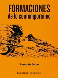 Cover Formaciones de lo contemporáneo