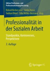 Cover Professionalität in der Sozialen Arbeit