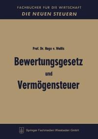 Cover Bewertungsgesetz und Vermogensteuer