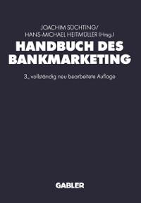 Cover Handbuch des Bankmarketing
