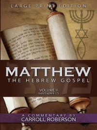 Cover Matthew, Volume 2