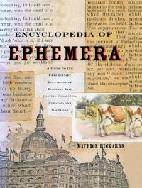 Cover Encyclopedia of Ephemera
