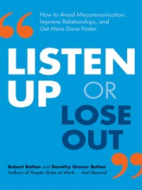 Cover Listen Up or Lose Out