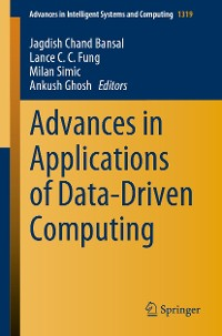 Cover Advances in Applications of Data-Driven Computing