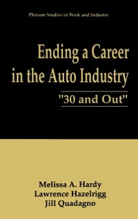 Cover Ending a Career in the Auto Industry