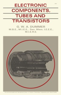 Cover Electronic Components Tubes and Transistors