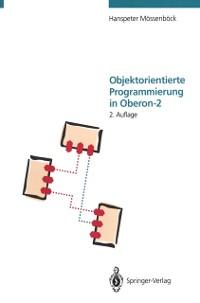 Cover Objektorientierte Programmierung in Oberon-2