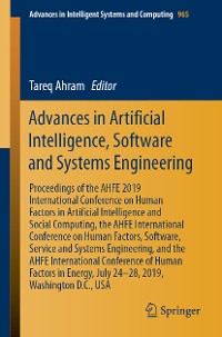 Cover Advances in Artificial Intelligence, Software and Systems Engineering