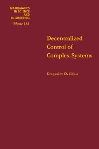 Cover Decentralized Control of Complex Systems