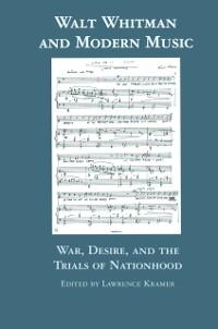 Cover Walt Whitman and Modern Music