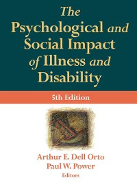 Cover The Psychological and Social Impact of Illness and Disability