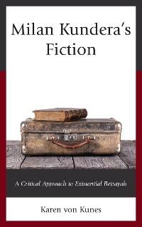 Cover Milan Kundera's Fiction