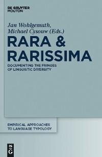 Cover Rara & Rarissima