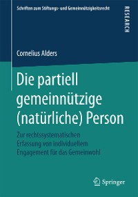Cover Die partiell gemeinnützige (natürliche) Person