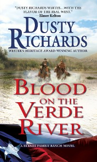 Cover Blood on the Verde River A Byrnes Family Ranch Western