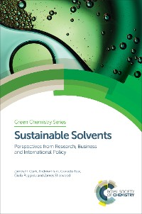 Cover Sustainable Solvents