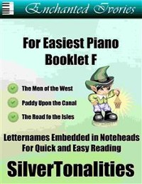 Cover Enchanted Ivories for Easiest Piano Booklet F