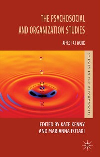Cover The Psychosocial and Organization Studies