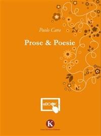 Cover Prose e Poesie