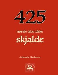 Cover 425 norsk-islandske skjalde