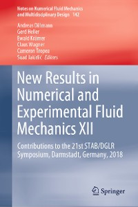 Cover New Results in Numerical and Experimental Fluid Mechanics XII