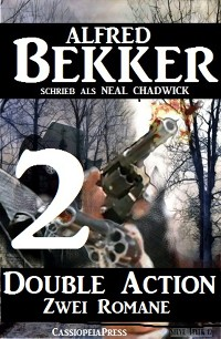 Cover Double Action 2 - Zwei Romane