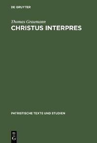Cover Christus interpres