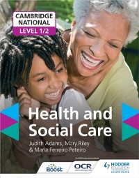 Cover Cambridge National Level 1/2 Health and Social Care