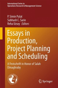 Cover Essays in Production, Project Planning and Scheduling