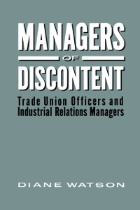 Cover Managers of Discontent