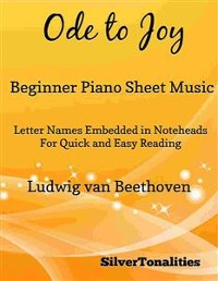 Cover Ode to Joy Beginner Piano Sheet Music