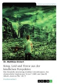 Cover Krieg, Leid und Terror aus der kindlichen Perspektive