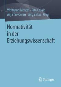 Cover Normativität in der Erziehungswissenschaft