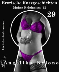 Cover Erotische Kurzgeschichten 29 - Meine Erlebnisse Teil 13