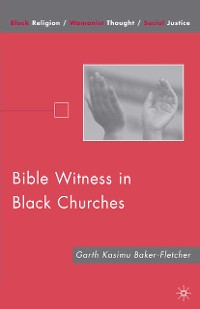 Cover Bible Witness in Black Churches