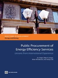 Cover Public Procurement of Energy Efficiency Services