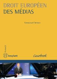 Cover Droit européen des médias