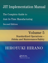 Cover JIT Implementation Manual -- The Complete Guide to Just-In-Time Manufacturing