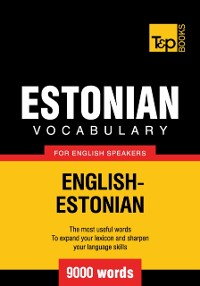 Cover Estonian vocabulary for English speakers: 9000 words