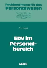 Cover EDV im Personalbereich