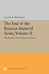 Cover The End of the Russian Imperial Army, Volume II