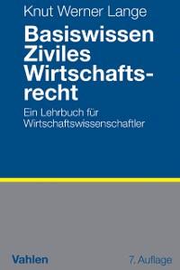 Cover Basiswissen Ziviles Wirtschaftsrecht