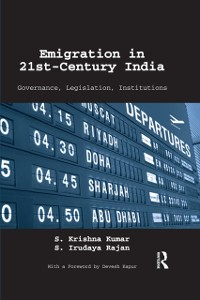 Cover Emigration in 21st-Century India