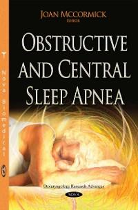 Cover Obstructive and Central Sleep Apnea