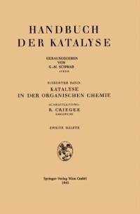 Cover Katalyse in der organischen Chemie