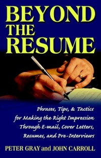 Cover Beyond the Resume