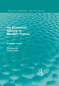 Cover Economic History of  Modern France