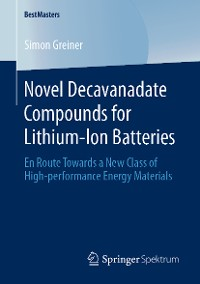 Cover Novel Decavanadate Compounds for Lithium-Ion Batteries