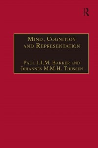 Cover Mind, Cognition and Representation